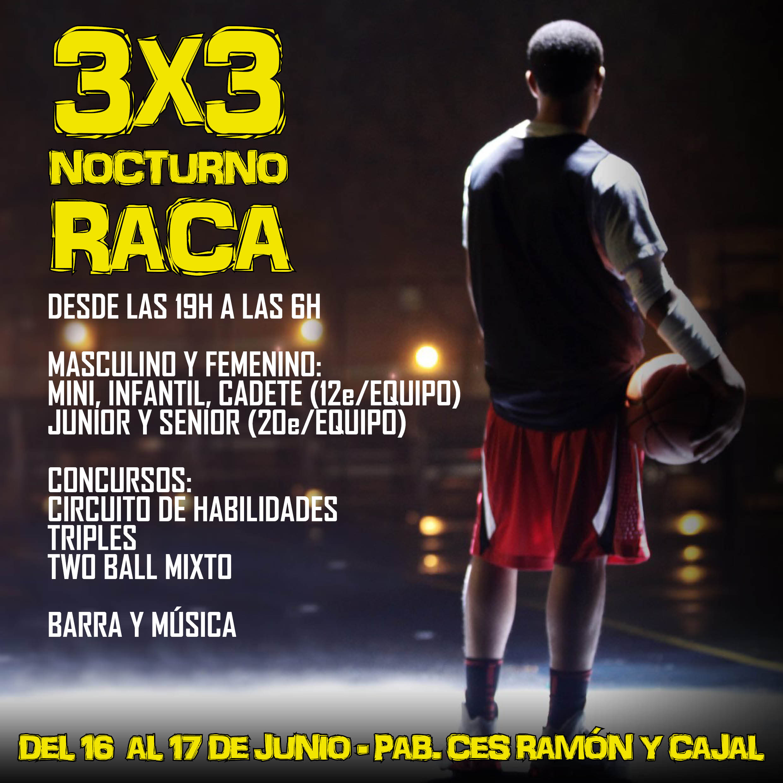3x3 nocturno RACA