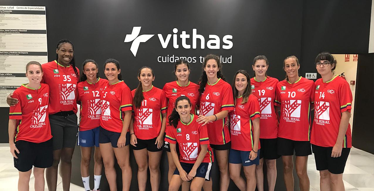 El Grupo Hafesa RACA Granada pasa reconocimiento médico en Vithas