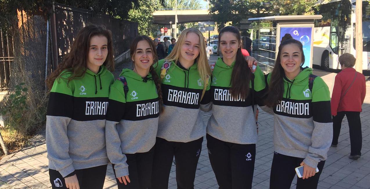 Cinco cadetes de RACA, con la selección provincial, al Campeonato de Andalucía