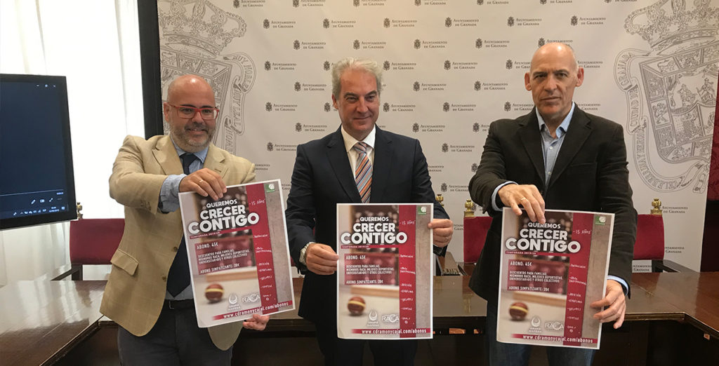 Presentada la campaña de abonos del Grupo Hafesa RACA Granada