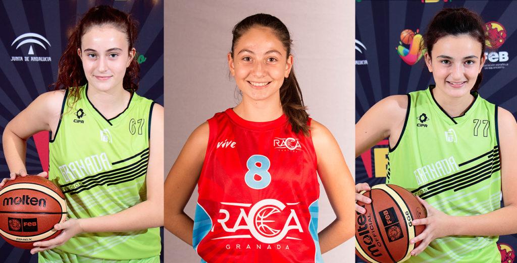 Tres jugadoras de RACA en la selección provincial cadete