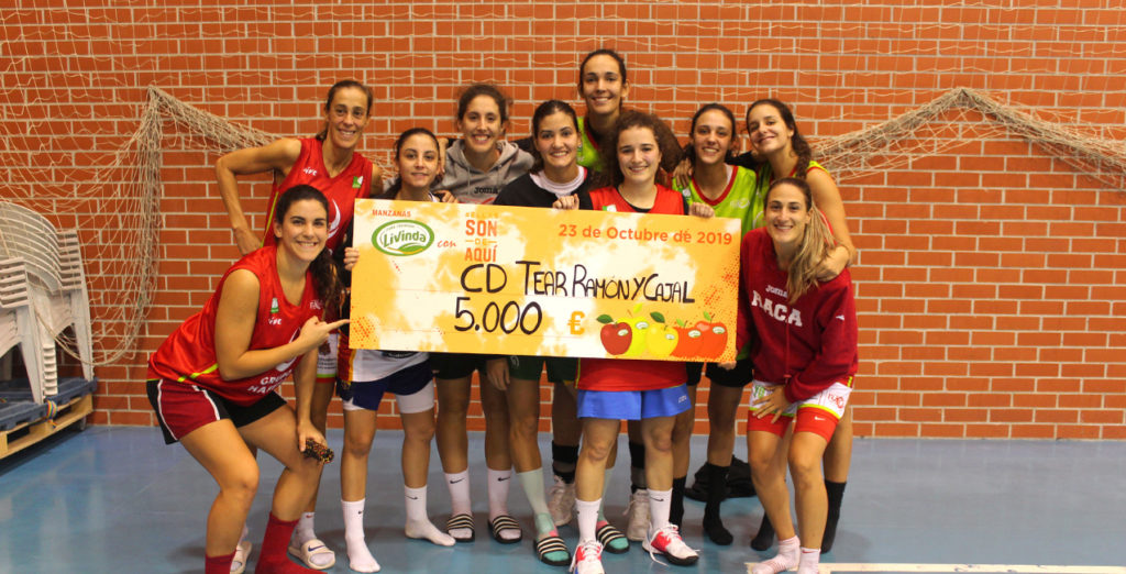 Grupo Hafesa RACA Granada gana el patrocinio de Manzanas Livinda