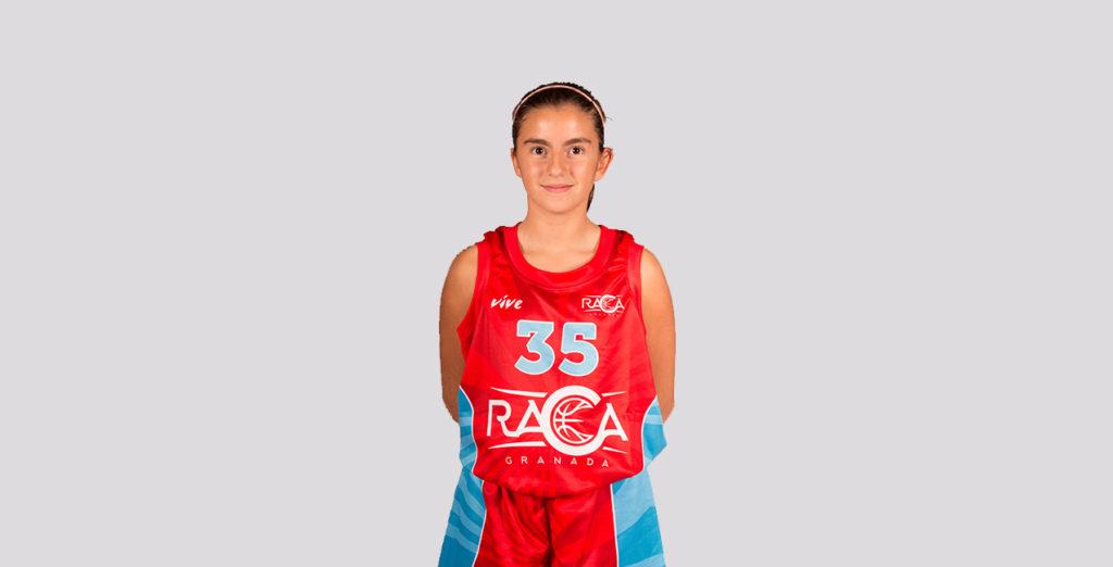 Mar Gómez, en la selección provincial infantil