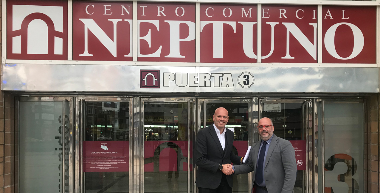 El CC Neptuno se une a RACA como patrocinador