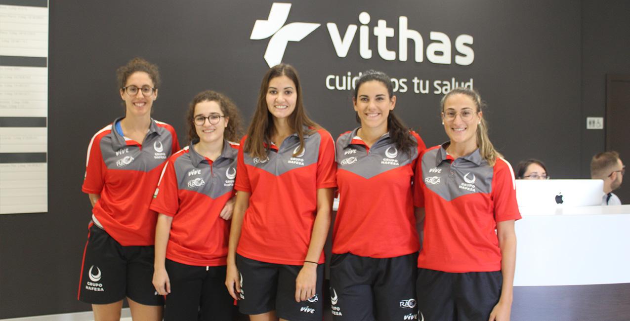 Vithas Granada patrocina el partido entre Hafesa RACA y Segle XXI
