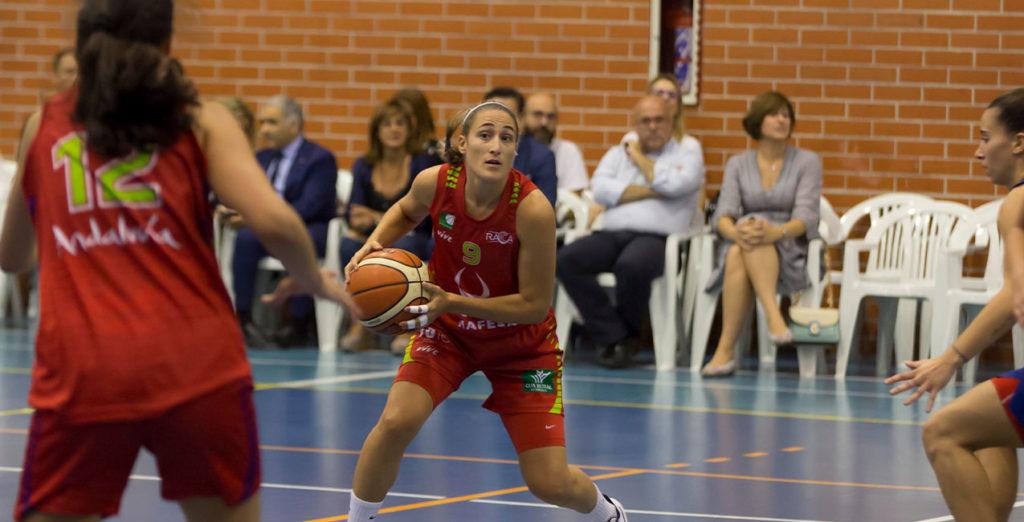 Ainara España deja el baloncesto de forma temporal