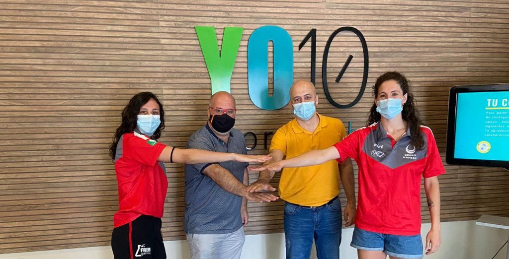 CD RACA y Yo10 Sport Club firman la renovación del patrocinio