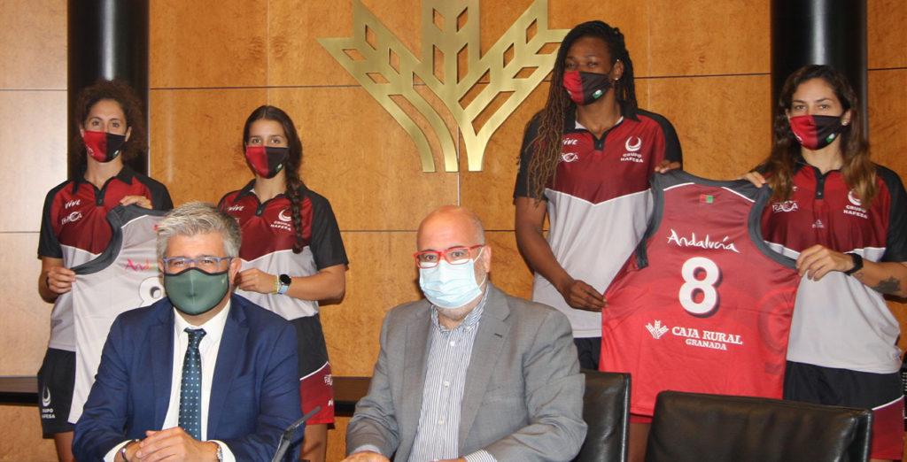 CD RACA y Caja Rural renuevan el patrocinio para la temporada 2020/2021