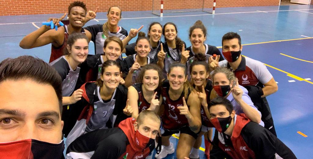 El Hafesa Granada logra su primera victoria de la temporada (64-43)