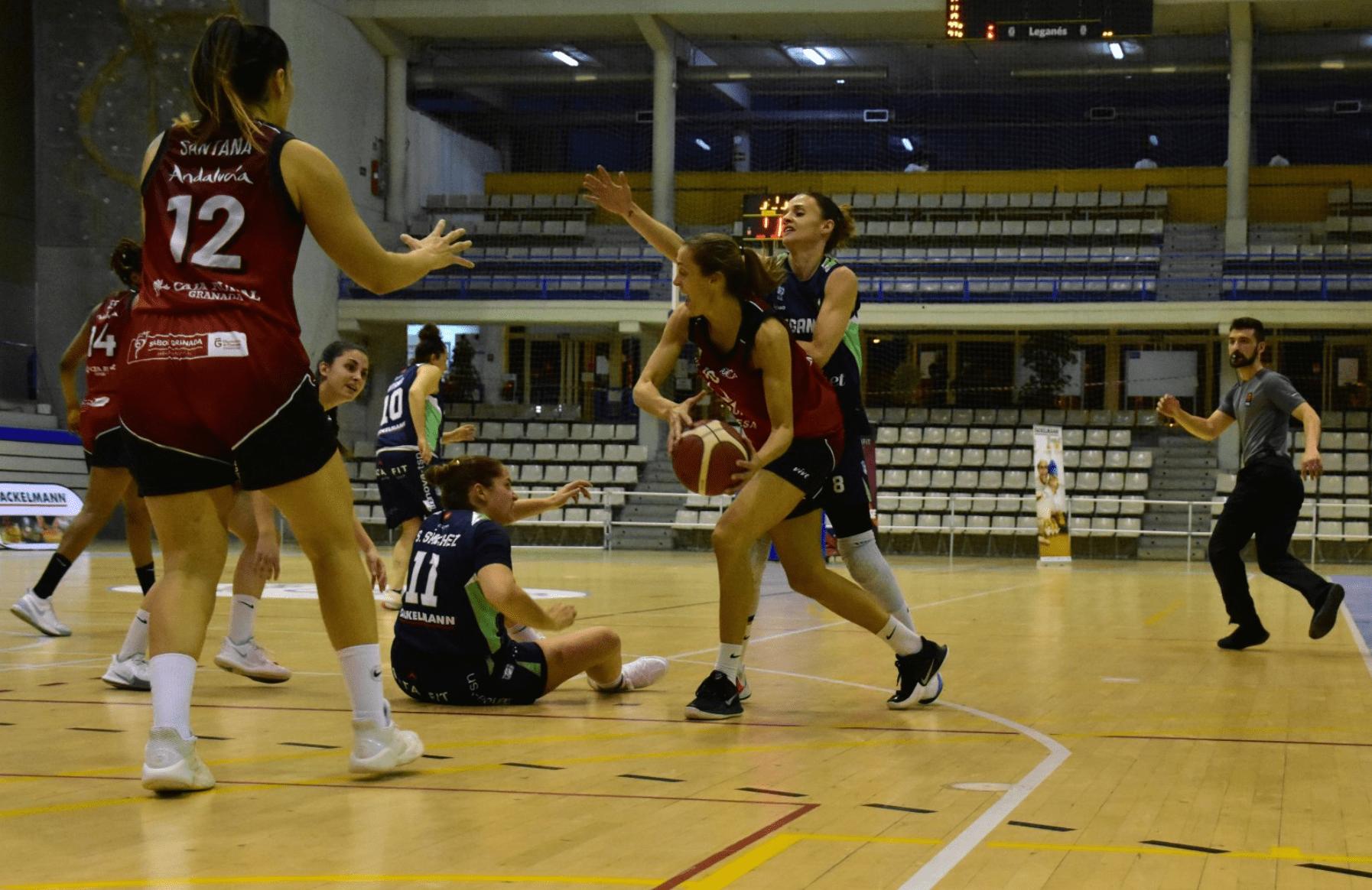 El Grupo Hafesa Granada cae derrotado ante el Ynsadiet Leganés (69-35)