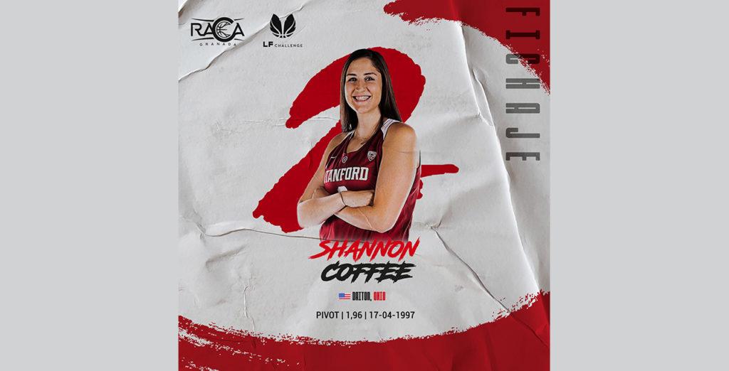 Shannon Coffee, cuarto fichaje de RACA para LF Challenge