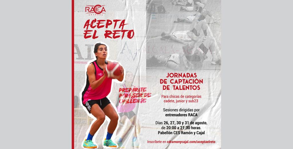 RACA organiza unas sesiones de entrenamiento para captar talento joven