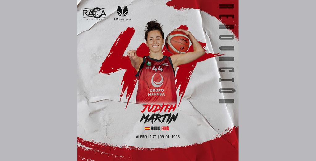 La granadina Judith Martín jugará en LF Challenge