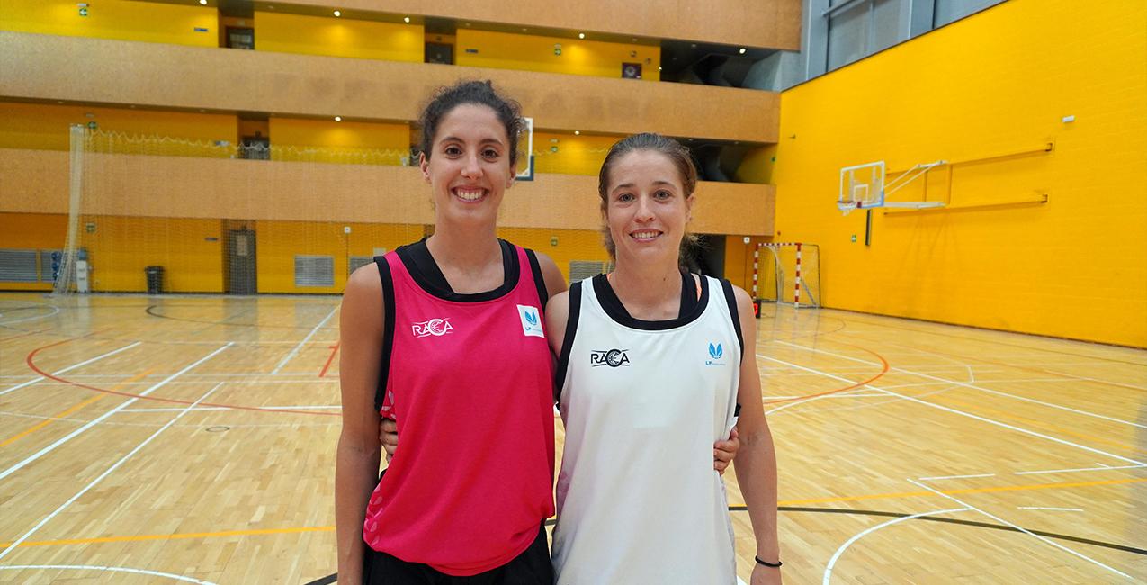 Rodriguez y Benet, las capitanas del RACA Granada en LF Challenge