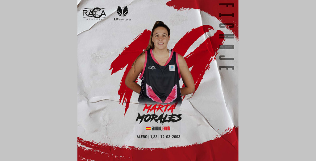 Marta Morales se incorpora a los entrenamientos con el RACA Granada