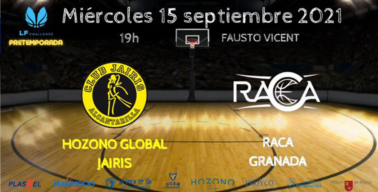 RACA Granada afronta su tercer partido de pretemporada